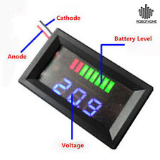 Charge Level Indicator Voltmeter for 12V Lead-acid Battery Indicatore