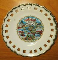 WORLDS FAIR EXPO 74 Souvenir Plate Spokane Washington Vintage 1974