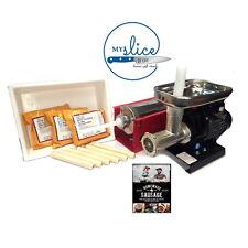 Advanced Sausage Making Kit - Reber Mincer & 5Kg Filler / Tub / Sausage Meal