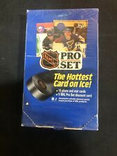 1990-91 PRO SET SERIES 1 ONE HOCKEY SEALED FACTORY BOX - Great Rookies 🔥