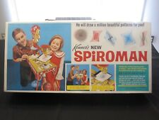 Kenner SPIROMAN 432 Spirograph Super Rare WITH INSERTS