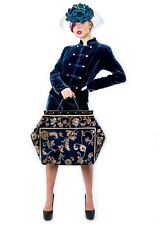 MARY POPPINS LARGE VICTORIAN-STYLE CARPET BAG.