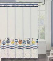 United B International 12 pc decorative green//white shower curtain hook set NIP