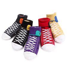 meine zweite Schuhe Socken (5-Pack) Klapp Socken 2Design Turnschuhe & Monster BE