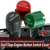 Start Stop Engine Switch Button Cover Cap For Land Rover Discovery 2010-2013 HL