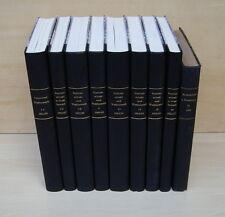 9 x MARKENSCHUTZ UND WETTBEWERB / Jahrgang 1901 - 1935 / Berlin Walter / Band 1