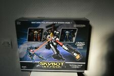 LOT 2 ROBOT SKYBOT ATTACK  RADIO COMMANDE RC SILVERLIT INFRAROUGE  NEUF