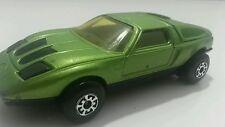 Matchbox K-30 Mercedes C111 C III TOY Vintage 1971 Diecast Bulgaria 1:43 GREEN