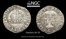 ANGLO-GALLIC. Henry VI. 1422-1461. Silver Grand Blanc, Rouen, NGC AU53