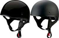Z1R CC Beanie Style Half Motorcycle Helmet DOT - Pick Size Color