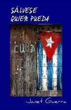 Salvese Quien Pueda : Novela by Janet Guerra (2014, Paperback)