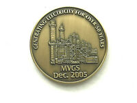 Generating Electricity Token Medallion MVGS Coin SBGS