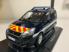 Peugeot Partner Gendarmerie Nationale 1/18 eme NOREV