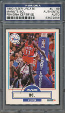 1990/91 Fleer Update #U-69 Manute Bol PSA/DNA Certified Authentic Auto *2858