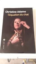 Christine Adamo - L'équation du chat