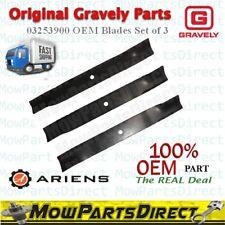 "OEM Original Gravely Ariens Genuine 03253900 60"" Deck Standard Stock Blades 20.5"