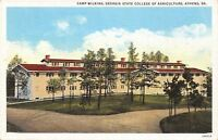 Athens GA Camp Wilkins @ Georgia State College of Agriculture~1925 Linen