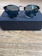 Brand New Persol TYPEWRITER EDITION PO3108S Black Horn 49/22/145 Sunglasses