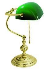 Lampada da scrivania americana ottone lucido catena MADE IN ITALY