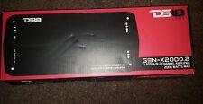 DS18 GEN-X2000.2 2000 vatios 2 canales clase A/B amplificador con mando remoto