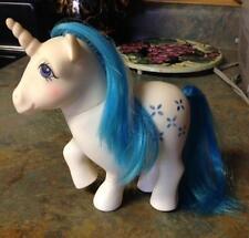 1983 Hasbro My Little Pony Vintage G1 Majesty Unicorn Blue Dream Castle Ponies