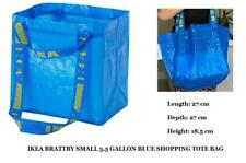 brand new IKEA BRATTBY SMALL 3.5 GALLON BLUE SHOPPING LAUNDRY GROCERY TOTE BAG