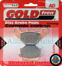Barossa Quads 170 Cheetah Rear Sintered Brake Pads 2004 - Goldfren
