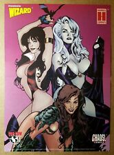 Vampirella Lady Death Witchblade Babes Harris Comics Poster by Adam Hughes