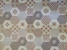 Retro Vliestapete Vintage Kupfer Grau Braun Vlies Tapete Collage