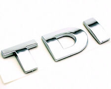 Auto TDI Emblem for VW Polo PASSAT B5 B6 MK3 MK4 MK5 Golf Tail Car Badge Sticker