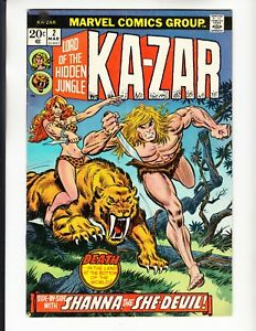 KA-ZAR 2 VERY GOOD COMICS BOOKS LOT SHANNA SHE DEVIL ROMITA COVER (1974)