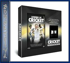 LEGENDS OF CRICKET - DVD & CUFFLINKS GIFT SET **BRAND NEW **