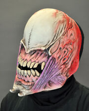Alien Faceless Horror Adult Latex Halloween Mask with Moving Mouth Jaws