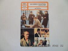 CARTE FICHE CINEMA 2001 UN HOMME D'EXCEPTION Russell Crowe Ed Harris J.Connelly