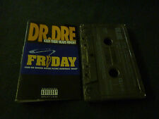 DR DRE KEEP THEIR HEADS RINGIN ULTRA RARE NEW ZEALAND CASSETTE SINGLE! NWA