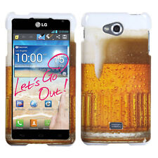 For MetroPCS LG Spirit 4G MS870 HARD Protector Case Snap On Phone Cover Beer