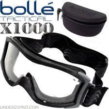 Masque Bollé Tactical X1000 noir écran balistique standard airsoft armée X1NSTDI