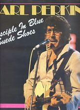 CARL PERKINS disciple in blue sude shoes GERMAN 1984 EX LP