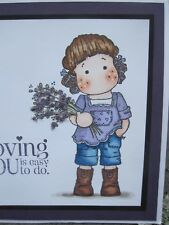 Thinking of you Handmade Greeting Card, flower, beautiful, happiness, friend