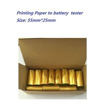 11-Rolls Printing paper to car battery tester BST-760 / MICRO-568/ MICRO-300