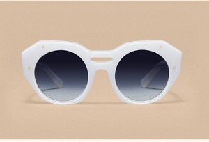 """REVEL PARIS """"White"""" womens sunglasses HANDMADE (NEUF)"""