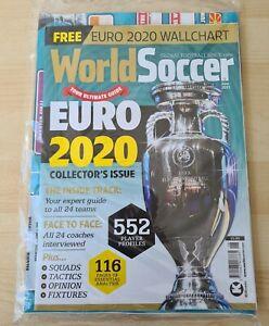World Soccer Euro 2020 Collectors Edition Magazine + Wall Chart