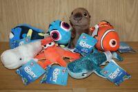 Finding Dory Soft Beanie Toy Bundle Disney Pixar Hank Nemo Bailey Sea Otter NEW