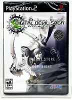 Shin Megami Tensei Digital Devil Saga - PS2 - Brand New | Factory Sealed