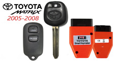 Toyota MATRIX 44D  DOT Chip Key + 3 Button Remote GQ43VT14T + Programmer