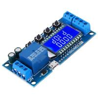 6-30V Delay Relay Module Delay Off Cycle Timer 0.01s-9999min Adjustable