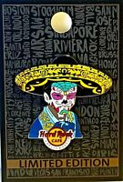 Hard Rock Cafe Hollywood Blvd Pin Sugar Skull Mariachi 2019 LE New # 516267