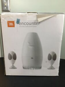 "JBL- Encounter 2.1 Multimedia Speaker System ""Alien Face""computer (Works Great)"