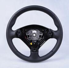 Lenkrad mit Echtlederbezug passend für Peugeot 307 (Lederlenkrad / Tuning F01)