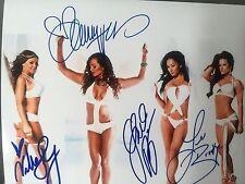 Signed 8x10 Sexy Knockouts Brooke Gail Kim Velvet Sky Christy Hemme